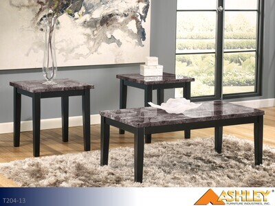 Maysville Black Occasional Table Set by Ashley (3 Piece Set)