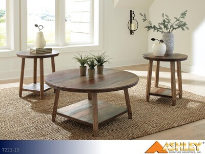 Raebecki Multi Occasional Table Set by Ashley (3 Piece Set)