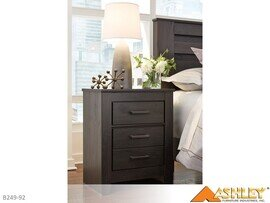 Brinxton Charcoal Nightstand by Ashley