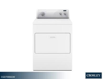 White Gas Dryer by Crosley (7.0 Cu Ft)