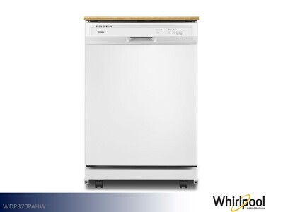 White Dishwasher by Whirlpool (Portable)