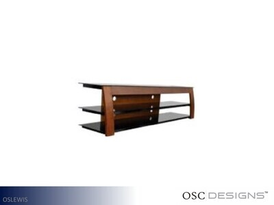 Lewis Metal-Glass TV Stand by OSC Designs