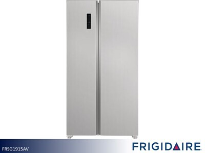 Stainless Side by Side Refrigerator by Frigidaire (19 Cu Ft)