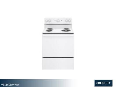 White Electric Range by Crosley (30 Inch)