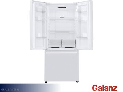 White French Door Refrigerator by Galanz (16 Cu Ft)