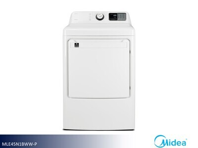 White Electric Dryer by Midea (8.0 Cu Ft)