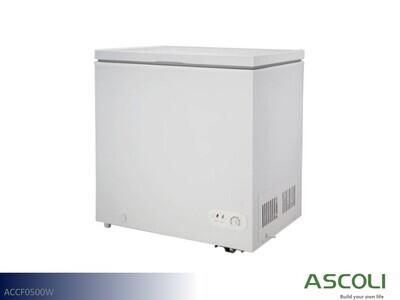White 5 Cu Ft Chest Freezer by Ascoli (5 Cu Ft)