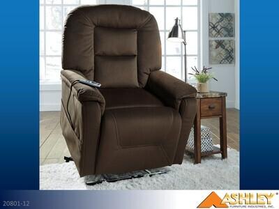 Samir Coffee Lift Chair by Ashley
