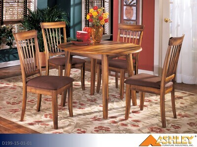 Berringer Rustic Brown 5 Pc Dining Set by Ashley (5 Piece Set)