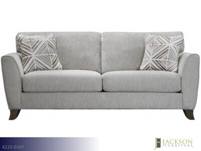 Alyssa Pebble Stationary Sofa by Jackson