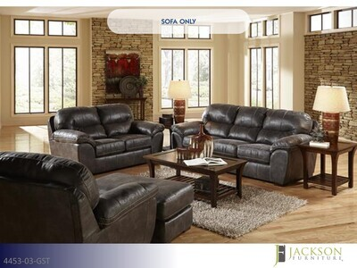 Grant Steel Stationary Sofa by Jackson