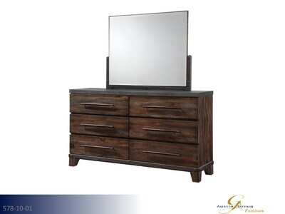 Forge Dresser with Mirror by Austin Group (2 Piece Set)