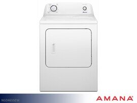 White Gas Dryer by Amana (6.5 Cu Ft)