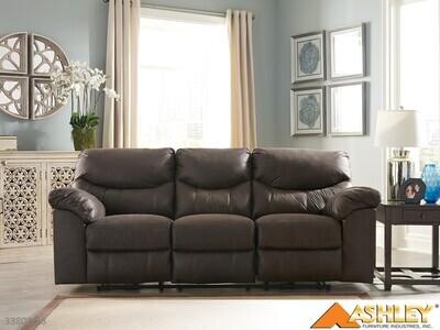 Boxberg Teak Reclining Sofa by Ashley