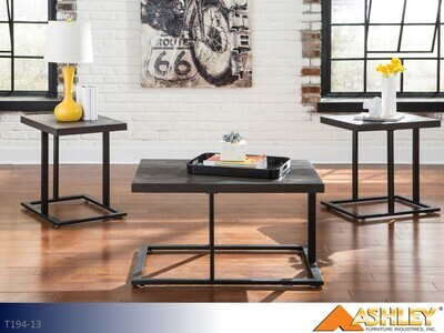 Airdon Occasional Table Set by Ashley (3 Piece Set)
