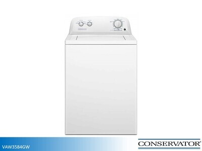 White Top Load Washer by Conservator (3.5 Cu Ft)