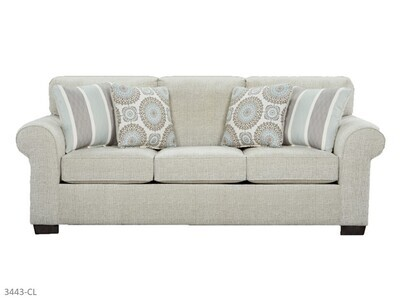 Charisma Linen Stationary Sofa by Affordable