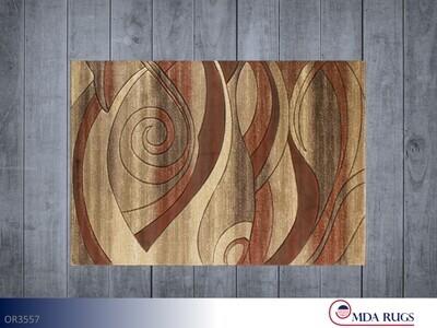 Brown-Terra Rug by MDA