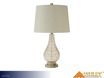 Latoya Champagne Lamps by Ashley