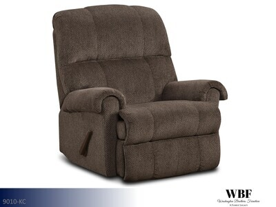 Kennedy Chocolate Recliner by Washington Brothers