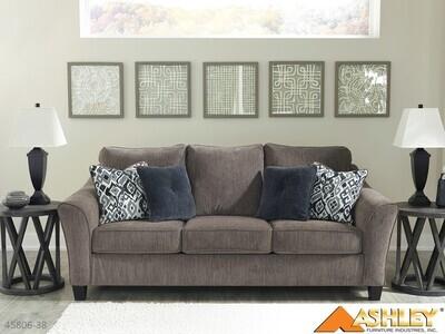 Nemoli Slate Stationary Sofa by Ashley