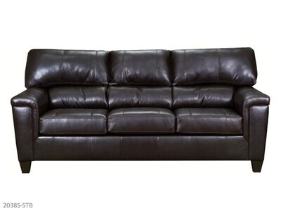 Soft Touch Bark Stationary Sofa by Lane
