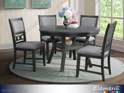 Amherst Gray 5 Pc Dining Set by Elements (5 Piece Set)