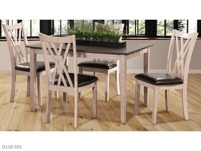 Paige 5 Pc Dining Set by New Classic (5 Piece Set)