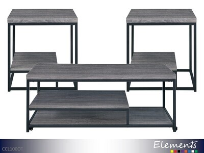Clemens Occasional Table Set by Elements (3 Piece Set)
