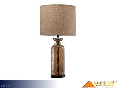 Laurentia Champagne Lamps by Ashley