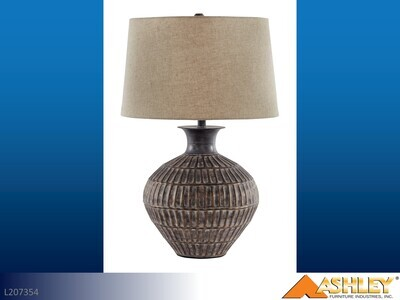 Magan Antique Bronze Lamps by Ashley (Pair)