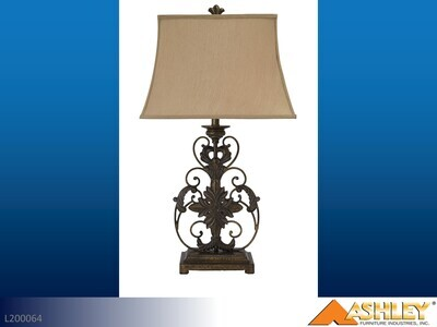 Sallee Gold Lamps by Ashley