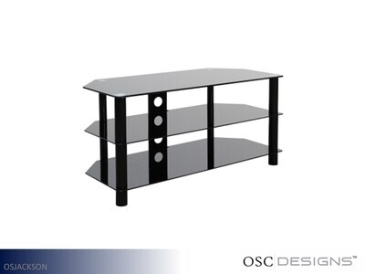 Jackson Metal-Glass TV Stand by OSC Designs (Up To 79