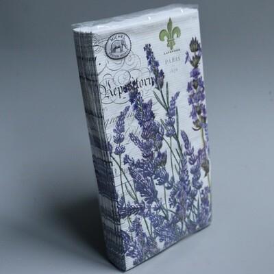 Lavender Print Napkins