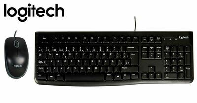 COMBO: Teclado + Mouse USB - Logitech