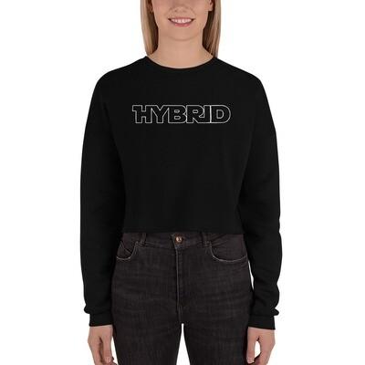 Hybrid Crop Sweatshirt