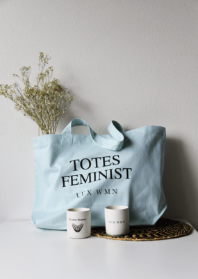 LUX WMN - Supporter (The Current Issue & Totes Feminist Tote)