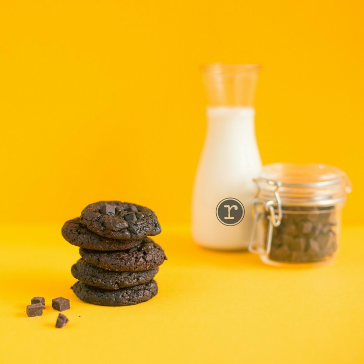 Dark Choco Chunk Cookies