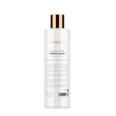 MICELLAR WATER CLEANSE & PEEL 400ml