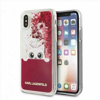 Carcasa iPhone X/XS Licencia Karl Lagerfeld