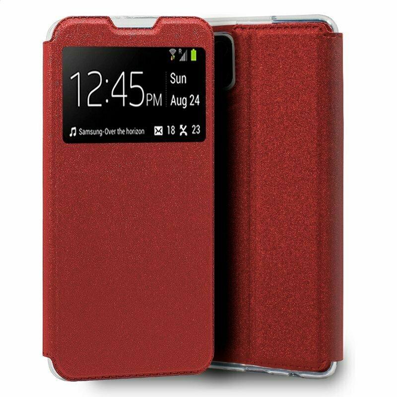 Funda COOL Flip Cover para Samsung A125 Galaxy A12 Liso Rojo