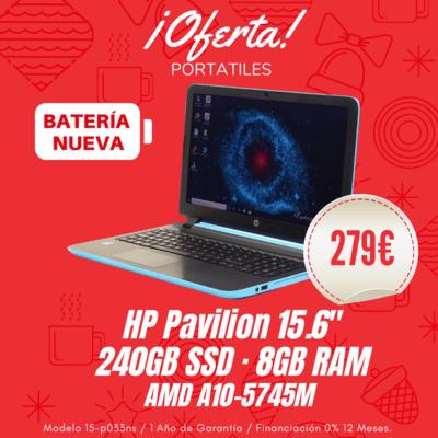 Portátil HP Pavilion 15.6''