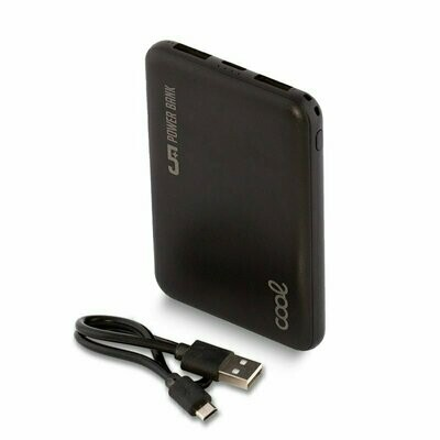 Bateria Externa Micro-usb Power Bank 5000 mAh COOL Leather Negro