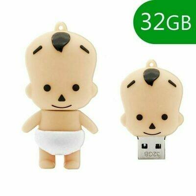 Pen Drive USB x32 GB Silicona Bebé