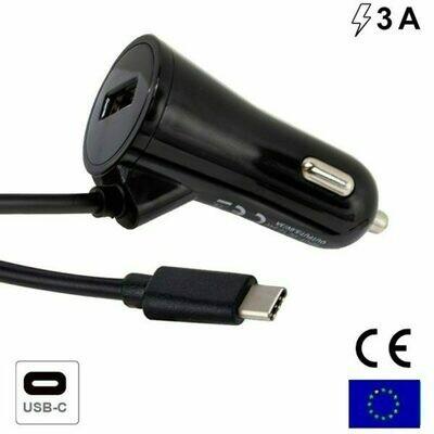Cargador Coche Conector Tipo C Universal 3 Amp