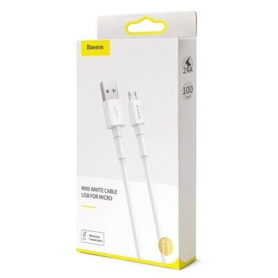 Cable de carga Micro USB Baseus 1M- CAMSW-02
