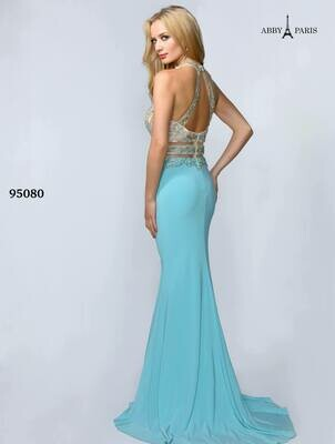 Abby Paris Prom dress 95080 size M