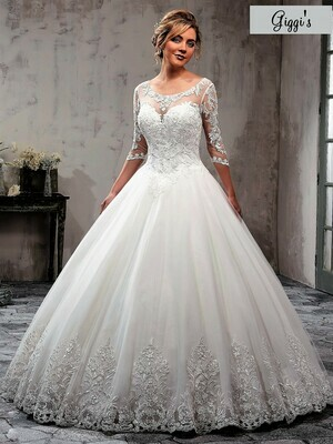 Mary's Bridal MB3020 size 22
