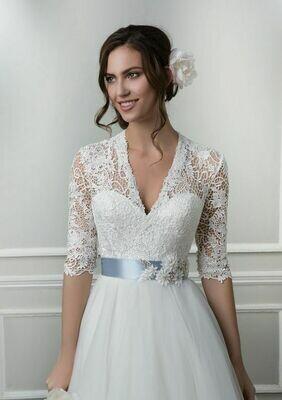 Lillian West wedding dress 6387 Size 14