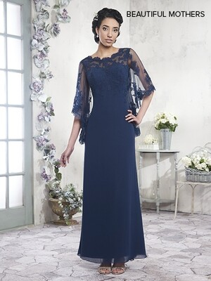 Beautiful Mother of the bride dress MB8001 size 14